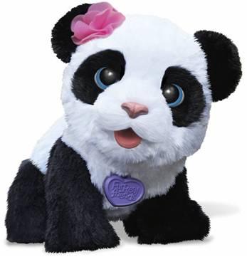 FurReal Friends Stuffed Plush Panda Bear Pom Pom