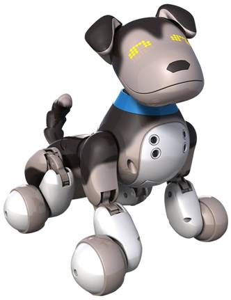 Zoomer Pup Shadow Interactive Puppy Features Robotic Dog Toys
