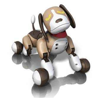 Zoomer Robot Puppy Dog Bentley