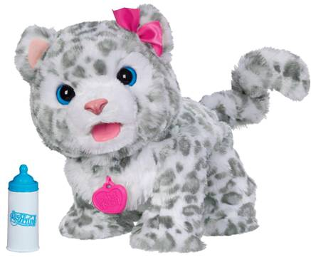 Furreal Friends Baby Snow Leopard Flurry Review Robotic Dog Toys