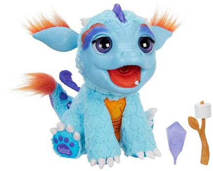 Furreal Friends Magical Dragon Named Torch Review Robotic Dog Toys