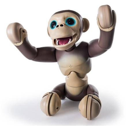 Playful Primate Zoomer Chimp Interactive Monkey Review Robotic Dog
