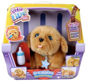 Little Live Pets Snuggle Interactive Puppy