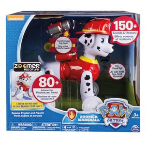 Paw Patrol Zoomer Marshall Packaging