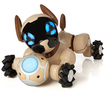 Cool Wowwee Chocolate Chip Robot Puppy Review Robotic Dog Toys